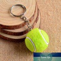 6 Renk Anahtarlık Tenis Topu Metal Anahtarlık Araba Anahtarlık Anahtarlık Spor Zincir Şerit Renk Kolye Sıcak Satış # 17112