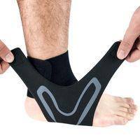 Поддержка лодыжки Brace спортивный ремешок Bandage баскетбол футбол регулируемый охранный рукав Protectot Safty1