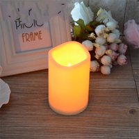 Célébration de mariage Bougies lumières LED Électronique romantique Switch Switch Fête Wave Lampe Guide de l'environnement Lampes d'essai Ordre 5 5CP3 m2