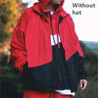 Mens Jacken Hoodie Herren Damen Frühling Sport Windjacke Reißverschluss Running Jacke M-4XL Plus Asain Size Kostenloser Versand Hip Hop Street Mode