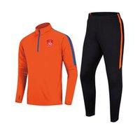 20-21 Stade Brestois 29 Nefes erkek Futbol Takımı Açık Koşu Eğitim Takım Elbise Sonbahar Ve Kış Çocuk Futbol Eşofman