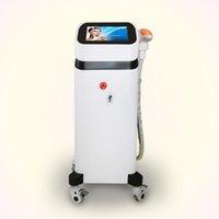 Мощный 808NM диодная лазерная машина для удаления волос 1200 Вт диодный лазер Все кожные ленты для волос удаление