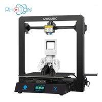 Impressoras Impressora 3D Anycubic Mega X Atualizado Mega-S Grande Tamanho de Construção 300 * 300 * 305mm High Precision FDM Kit Drucker Impresora1
