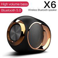 Alto-falantes de música Bluetooth Portátil Sem Fio Somante Estéreo Super HiFi Soundbar com TF Cartão 3.5mm AUX Cable Play Música