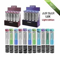 Yeni Hava Bar Lux Tek Kullanımlık Vape Light Edition 2.7 ml Tercih Edilen Pods 1000 Puf 500mAh Buharlı Çubuk Sistemi Kiti VS Curve Plus Pro
