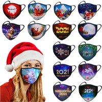 Maschere a LED inverno caldo polvere antipolvere maschera natale maschera incandescente maschera vacanze costume costume da scena maschera XD24218