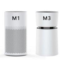 Мини Автомобильный очиститель воздуха ионный генератор освежитель воздуха с активированным углем HEPA Clean Pet и запахи пищевых продуктов в домашнем автомобиле Office M1M3