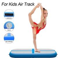 جديد نفخ airtrack حصيرة للبيع 1 * 0.6 * 0.1 متر لوحة الهواء / كتلة الهواء للأطفال المنزل استخدام رياضة الطابق المسار الطابق فراش البسيطة الحجم تعثر المسار