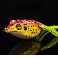 1 шт. 6G 4.5см лягушка мягкая приманка рыболовные приманки с круглыми крючками верхняя вода Ray лягушка искусственная минжевая кривошипка сильная хитрость Qylkpy