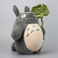 Anime Ghibli Miyazaki Hayao My Néoly Totoro Totoro Peluche Toys Peluches Kawaii Totoro Poupées Soft 36 cm T200619
