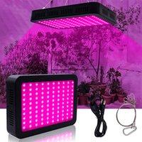 Nuovo Design 600W 60 * 10W Spectrum completo 3030 Lampada Lampada Lampada Pianta Pianta Pianta Single Control Materiale Premium Grow luci Nero