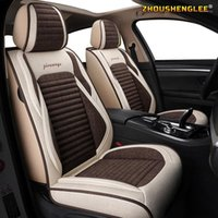 Autositzabdeckungen Zhoushenglee Flachs SEAR für Jahrhundert GL GS REGAL LACROSSE EXCELLE Park Avenue Royaum GL8 Encore Encry C1