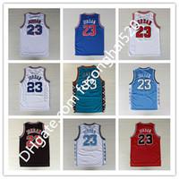 Hombres 23 Baloncesto Jersey Red MI Space Jam Looney Toones Toones Michaels Squad Team 96 98 Camisetas Tunesquad Throw Back College North Carolina