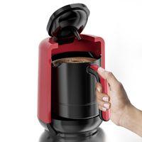 500ml 자동 터키 커피 메이커 기계 무선 전기 커피 냄비 AC 220 ~ 240V 휴대용 여행 메이커 400W