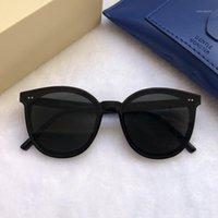 2020 Donne Designer Designer Occhiali da sole Moda Lady Elegante GM Occhiali da sole Uomini Trendy Star Sunglasses Box Occhiali da sole Confezione originale SOLO1
