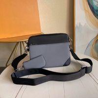 Натуральная кожа сумка посыльный 3 шт Набор SATCHEL мода сумка сумка для мужчин пресбиоп Мини пакет сумка на плечо мужчины оптом