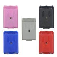 5 Color Battery AA Cover Shield Case Kit Indietro Caso Shell Pack per Xbox 360 Controller wireless Gamepad Joystick Ship Fast Ship di alta qualità