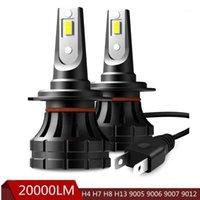 20000LM H7 Coche LED LED H4 H8 H9 H11 9005 9006 9007 H4 LED Fightlights para E46 E90 E60 E39 E36 F10 F30 X5 E53 E70 E87 M3 M51