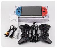 "X40 لعبة لاعب ماكس 7 ""متعددة الوظائف بروتابلي كاميرا ebook مسجل ألعاب فيديو ألعاب فيديو ل SFC MD NES لعبة 16 جيجابايت ريترو لعبة وحدة التحكم"
