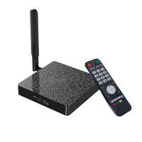 Android 9.0 TV Box N6 Plus Amlogic S922X رباعية النواة 4GB / 64GB 4GB / 32GB المدمج في 2.4G / 5G WIFI مشغل الوسائط الذكية MS