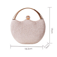 HBP Women's Wedding Clutch Evening Bag Small Female Handbag Luxury Wedding Bridal Purse Chain Party Shoulder Bag ZD1554