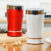 Multigrain الفولاذ المقاوم للصدأ الطاحونة المنزلية مسحوق آلة طاحونة القهوة الكهربائية مصغرة طاحونة سطح المكتب 4 الألوان المتاحة
