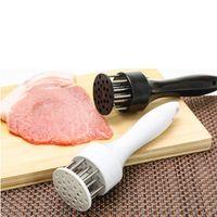 고기 Tenderizer 스테인레스 스틸 수동 망치 파운더 BBQ 그릴 스테이크 돼지 고기 두근 거리는 망치 주방 쿡 공구 액세서리 ZYY352