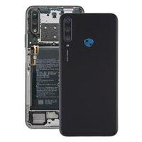 Couvercle arrière de la batterie d'origine avec couvercle de la lentille de caméra pour Huawei Y6P