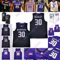 Kansas State Wildcats Basketbol Jersey NCAA Koleji Blackman Beasley Nijel Paketi Selton Miguel Luke Kasubke Carlton Linguard Jr. Lewis
