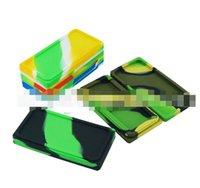 대형 평면 광장 왁스 메이트 용기 실리콘 비 스틱 왁스 메이트 저장 왁스 항아리 DAB 공구 왁스 매트 농축 도구 실리콘