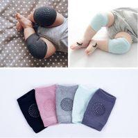 Nouveau 8 couleurs Protections de genou anti-slips antidérapants pour bébés Baby Pads Protecteur genou Kneecaps Chaussettes Chaussettes Enfants Courts Courtiers Baby Jamulateurs