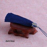12 unids 18 cm tapa de corona borlas franja de seda para cortinas accesorios de decoración para el hogar borlas prendas de coser tassel ajuste H jltjk