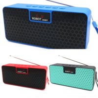 tAX LED wood Bluetooth Speakers Mini Portable Bluetooth Stereo Speaker Music Subwoofer With Built-In Mic Support TF Card FM Wireless