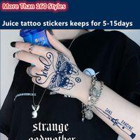 180 * 110mm wasserdichter temporärer saft tattoo aufkleber chinesisch drache groß tier tattoo flash tatoo gefälschte tatto back arm bein kunst für männer frauen