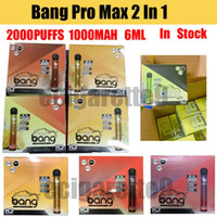 Bang Max Pro Switch Disposable Vape Pen 2 IN 1 Device Bang XXL 7ml Pods 2000 Puffs XXtra Kits Vape Empty Pen PK AIR Bar Flow Plus XL FLEX