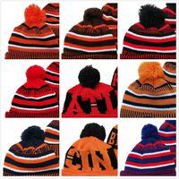 مزيج النظام بالجملة جميع الفرق الأمريكية كرة السلة كرة السلة البيسبول الشتاء بيني القبعات قبعات