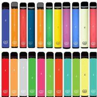 퍼프 플러스 일회용 vapes 펜 80 색 800puffs 미리 채워진 550mAh 인증 코드 휴대용 일회용 장치 퍼프 바 XXL Bang XXL 스위치 듀오