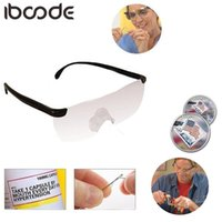 Iboode 1.6 veces Lupa Lectura Gafas Big Vision 250 Grados Lagalas presbiopicales Lupa Gafas Portátiles Padres regalo