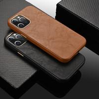 Custodia in vera pelle di lusso in pelle di lusso Custodia antiurto per iPhone 12 Pro Max 11 XR x 8 7