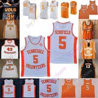 2020 Personalizado Tennessee Voluntários de Basquete Jersey NCAA College Yves Pons Jaden Springer Keon Johnson James Corey Walker Jr. Bailey Jr.