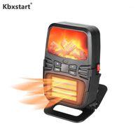 سخانات الكهربائية الذكية kbxstart مصغرة سخان الشتاء يده مع التحكم عن بعد الجدار الدفء للتدفئة الداخلية 220 فولت 1000W1