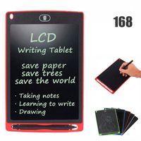50168D 8,5 Zoll LCD-Schreib-Tablet-Memo-Zeichnungsbrett Tafel Handwriting-Pads mit verbessertem Stift für Kinderbüro Einer Hintern Weihnachtsgeschenke
