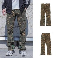 Gallery Dept Pants High Street Euro-American Trend Camouflage Galerie Abteilung Hosen Baggy Bell-Bottoms Bein