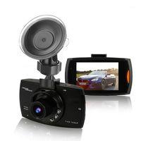 Caméra DVR de voiture USB portable 2,4 pouces 1080p FHD Caméra de voiture Vidéo Enregistreur vidéo Dashcam Sonpillé Type Auto véhicule Dash Cam avec lumières1