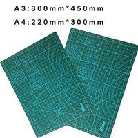 1 قطع a3 أو a2 pvc مستطيل الشبكة خطوط الذاتي شفاء قطع حصيرة أداة النسيج الجلود ورقة الحرفية diy tools1