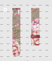 Couro de couro floral masculino e feminino com largura de 3,8 cm, italiano importado primeiro camada de couro 666