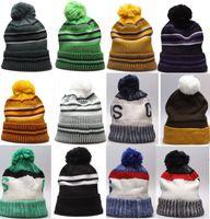 도매 겨울 비니 니트 모자 겨울 스포츠 비니 모자 여성 남성 겨울 따뜻한 모자 10000 + 스타일 맞춤형 모자 DHL 무료 배송