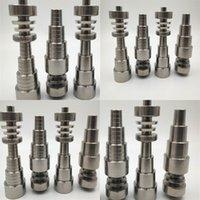 Titanium Somking Nagel Titanien 10mm 14mm 18mm Größe Nägel Zigarettenzubehör Hochwertige Gürtellinie Glatte Oberfläche 28BC B2
