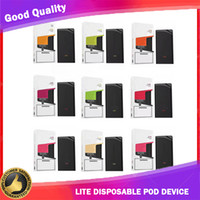 Lite Disposable Pod Device 3ml E Cig Vape System Vapor Pen 9...