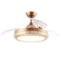 Горячие продажи Качество Изысканное мастерство Декоративное освещение Энергосберегающая лампа Скрытая складной BLDC светодиодный потолочный вентилятор высокого качества потолочный вентилятор